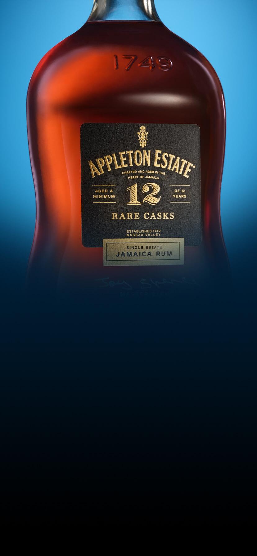 Appleton Estate 12 Year Old Rare Cask Appearance